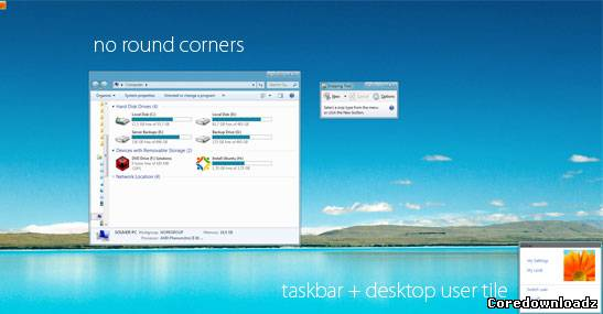 Windows 8 UX Pack 3.5 for Windows 7