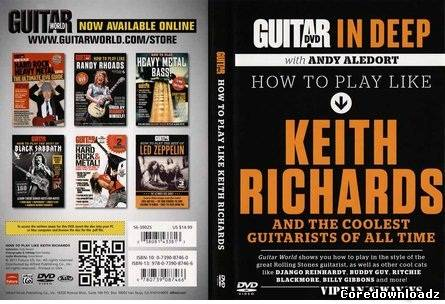 Guitar World - In Deep - How To Play Like - Keith Richards