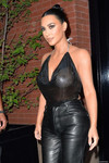 Kim Kardashian at Estiatorio Milos New York
