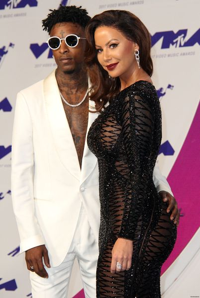 Amber Rose showed up at the MTV VMA Award show