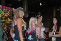 Phoenix Marie, Angelina Ash, Claire Dames and Luscious Lopez at AVN Ad